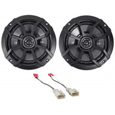 "2003-2008 Toyota Corolla Kicker 6.5"" Front Factory Speaker Replacement Kit"