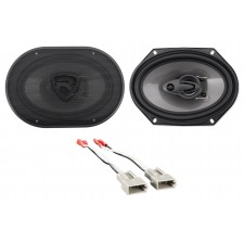 """Front Rockville 6x8"""" Factory Speaker Replacement Kit For 2001-2011 Mazda Tribute"""