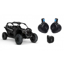 """Boss Bluetooth Controller for Can-Am MAVERICK X3/X3 Max+2 8"""" 300w Tower Speakers"""