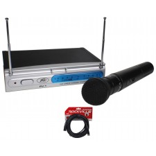 Peavey PV-1 U1 HH 911.70MHZ UHF Wireless Handheld Microphone System+XLR Cable
