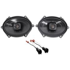 "2001-2005 Ford Explorer Sport Trac Polk 5x7"" Front Speaker Replacement Kit"