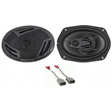 """Rockville CSC 900W 6x9"""" Rear Deck Speaker Replacement Kit For 2009-2014 Acura TL"""