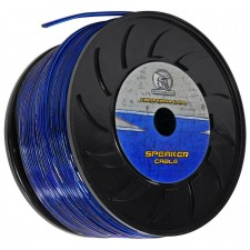 BULLZ AUDIO BES14.500BL 500 Ft. 14 Gauge Blue Speaker Wire/Cable Car Audio