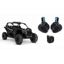 """Boss Bluetooth Controller for Can-Am MAVERICK X3/X3 Max+6.5"""" 250w Tower Speakers"""