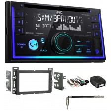 2007-2009 Saturn Aura JVC Stereo CD Receiver w/Bluetooth/USB/iPhone/Sirius