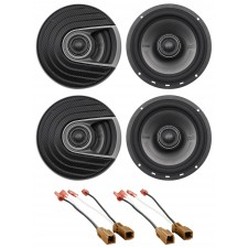 Polk Audio Front+Rear 6.5 Speaker Replacement For 03-04 Nissan Pathfinder LE/SE