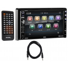"""SOUNDSTORM DD889 7"""" In-Dash DVD/CD Player Receiver w/ Bluetooth/USB/MP3+Cable"""