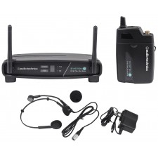 Audio Technica ATW-1101/H System 10 Digital Wireless Headset Microphone System