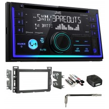 2007-2009 Saturn SKY JVC Stereo CD Receiver with Bluetooth/USB/iPhone/Sirius