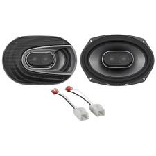 2006-2009 Dodge Ram 2500/3500 6x9 Polk Audio Front Speaker Replacement Kit