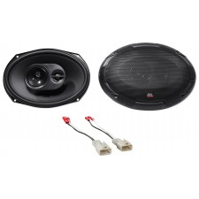 "6x9"" MTX Rear Factory Speaker Replacement Kit For 2002-2006 Toyota Camry"