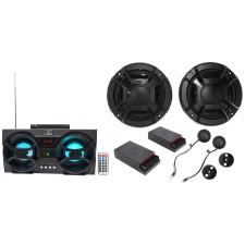 """Polk Audio DB6502 6.5"""" 600w Component Car/ATV/Motorcycle Speakers+Free Speaker !"""