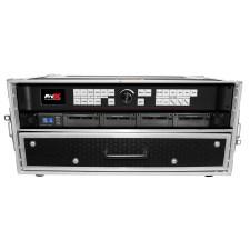 "ProX XS-WM2U2DR 2U Rack Case+2U Rack Drawer For 19"" Amplifier/Mixer/Mic Receiver"