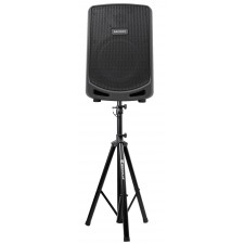 """Samson Expedition Escape 6"""" Portable Rechargeable Powered PA DJ Speaker + Stand"""