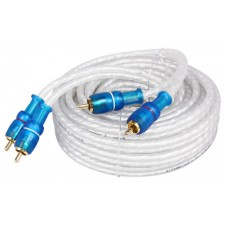 Rockville MRCA25 25 Foot Twisted Pair Marine RCA Cable 100% Copper, Split Pin