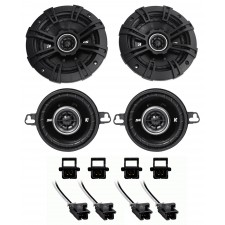 "2005-2013 Chevy Corvette Kicker DS Front 3.5""+Side 5.25"" Speaker Replacement Kit"