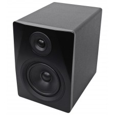 "Pair Rockville APM5B 5.25"" 2-Way 250W Powered Studio Monitors+10"" Sub+Interface"