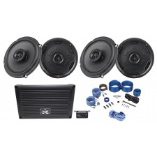 "MTX XTHUNDER800.5 800 Watt RMS 5-Channel Amplifier+(4) 6.5"" MTX Thunder Speakers"