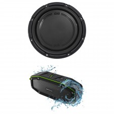 "Polk Audio DB1242SVC 12"" 1110 Watt Single 4-Ohm Car Audio Subwoofer Sub+Speaker"