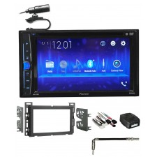 2007-2009 Saturn Aura Pioneer DVD/CD Bluetooth Receiver iPhone/Android/USB