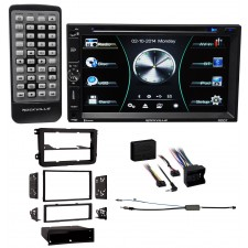 2006-2009 Volkswagen Rabbit VW Car DVD/iPhone/Pandora Bluetooth Receiver Stereo