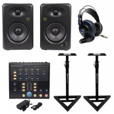 Presonus Monitor Station V2 Control Center+(2) Studio Monitors+Stands+Headphones