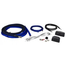 Kicker PKD1 1/0 AWG Gauge Dual Car Amp Installation Wire Kit Amplifier Install