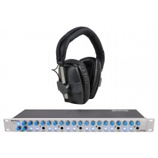 Beyerdynamic DT-150 250 Ohm +Presonus HP60 6 Channel Pro Headphone Amplifier Amp