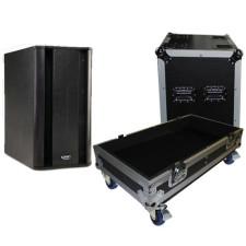 "ProX X-QSC-KSUB Hard Travel Flight Case For The QSC-KSUB 12"" Subwoofer W/Wheels"