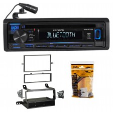 Kenwood CD Receiver w/Bluetooth iPod/iPhone/Pandora For 2005-07 Nissan Frontier