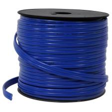 Rockville R14G125MS-BL Blue 125 Foot Spool Marine/Boat Waterproof 14 AWG Speaker Wire