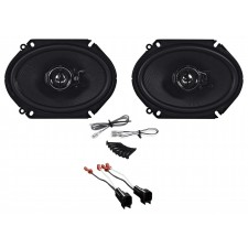 Front Kenwood Speaker Replacement Kit For 2001-2011 Mazda Tribute