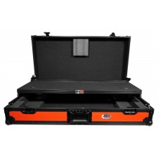 ProX XS-DDJSZWLTRB Case+Wheels+Sliding Laptop Shelf For Pioneer DDJ-SZ/DDJ-RZ