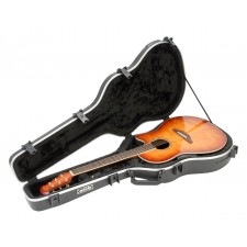 SKB 1SKB-16 Ovation Shaped Roundback Guitar Hard Case