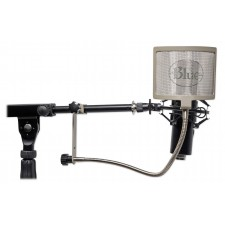 Blue The Pop Clamp-On Pop Filter Windscreen For Studio Condenser Recording Mics