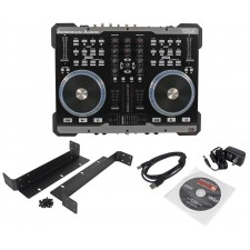 American Audio VMS2 USB MIDI DJ Controller With Touch Scratch Wheel VMS702