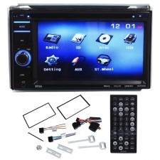 """Boss BV9356 6.2"""" Double DIN Car Monitor DVD/USB/SD Player Radio Receiver"""