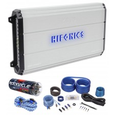 Hifonics Zeus ZXX-2000.4 2000 Watt RMS 4-Channel Car Amplifier+Amp Kit+Capacitor