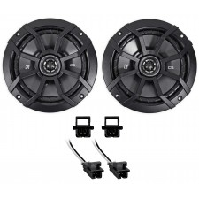 """2000-13 Chevrolet Chevy Impala 6.5"""" Kicker Front Factory Speaker Replacement Kit"""