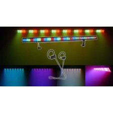 Chauvet COLORSTRIP 4-Ch DMX LED Multi-Color DJ Light Bar Color Strip + Speaker