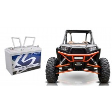 XS Power XP2500 2500 Watt Power Cell Marine Stereo Battery For ATV/UTV/Cart