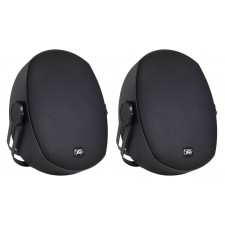 "2 Peavey Impulse 5c Indoor/Outdoor 5"" Speakers 4 Restaurant/Bar/Home/Patio-Black"