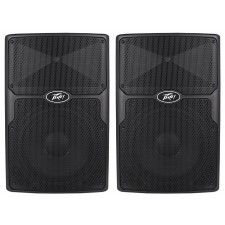 "(2) Peavey PVx12 12"" 1600-Watt Passive Pro PA Speakers Light-Weight PVX-12"