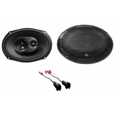 MTX Rear Factory Speaker Replacement Kit For 2003-2011 Lincoln Town