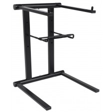 ProX T-LPS600 Lightweight Folding DJ Laptop Stand With Extra Shelf & Travel Bag