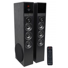 "Rockville TM150B Bluetooth Home Theater Tower Speaker System (2) 10"" Subwoofers!"