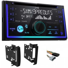 2008-2010 Dodge Charger JVC Car Stereo CD Receiver w/Bluetooth/USB/iPhone/Sirius