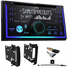 08-10 Jeep Grand Cherokee JVC Car CD Receiver w/Bluetooth/USB/iPhone/Sirius