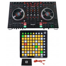 """Numark NS6II 4-Channel DJ Controller w/ 2"""" Color LCD Display + Pad Controller"""