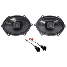 """2007 Ford Mustang Polk 5x7"""" Rear Factory Speaker Replacement Kit w/Harness"""